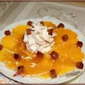 Carpaccio d'orange au pain d'épices et[...]