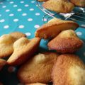 Madeleines (mes premières!)