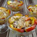 Blanquette de nectarines aux fruits rouges -[...]