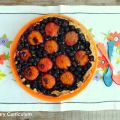 Tarte abricots et myrtilles (Apricot and[...]