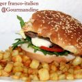 Hamburger franco-italien