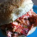 Hamburger de Homards ( style lobster rolls)