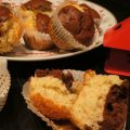 Muffins banane - cacao, Recette Ptitchef
