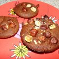 Financiers au chocolat et fruits secs