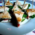 Club sandwich de dinde au cresson