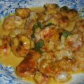 Langoustines au curry et coco (Prawns with[...]