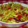 Salade de chou traditionnelle