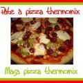 Pâte à pizza thermomix - masa pizza thermomix,[...]