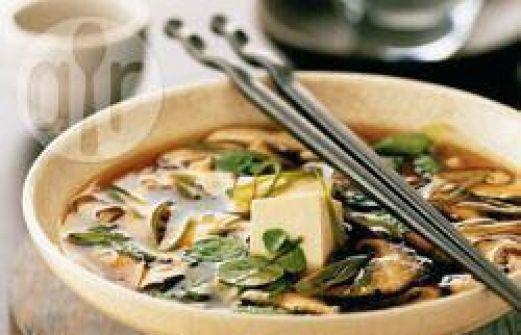 Recette soupe japonaise au miso - Recette soupe japonaise ...