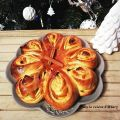 Brioche flocon aux épices de noël, orange et[...]