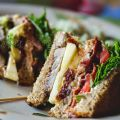 Club sandwich ALL IN (porc, pomme, bacon,[...]