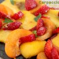 Carpaccio de fruits d'été
