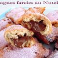Bugnes farcies au Nutella