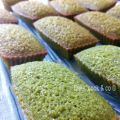 Financiers au the vert Matcha