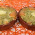 Courgette aux fromages