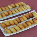 Financiers version mini raisins secs et[...]