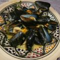 Moules curry et lait de coco (Mussels curry and[...]