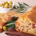 Cake jambon / olive / fromage