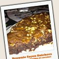 Brownie façon Snickers : chocolat, cacahuètes[...]