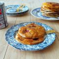 Pancakes aux fraises (Strawberries pancakes)