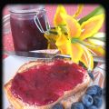 Confiture de prunes rouges