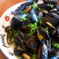 Moules à la marinière de Julia Child