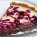 Tarte chocolat blanc fruits rouges