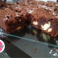 Brownie 3 chocolats