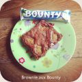 Brownie aux Bounty { Candy Day #10 }