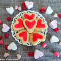 Shortbread coeur au citron (Lemon heart[...]