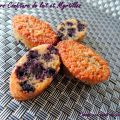 Financiers confiture de lait & myrtilles - «[...]
