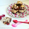 Brownie chocolat au lait, framboises et fèves[...]