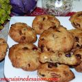 Cookies au chocolat blanc, cranberries, noix de[...]